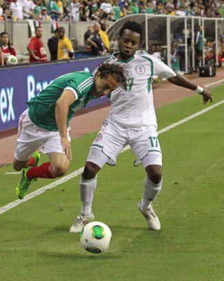 La Nigeria di Onazi pareggia 2 a 2 contro il Messico