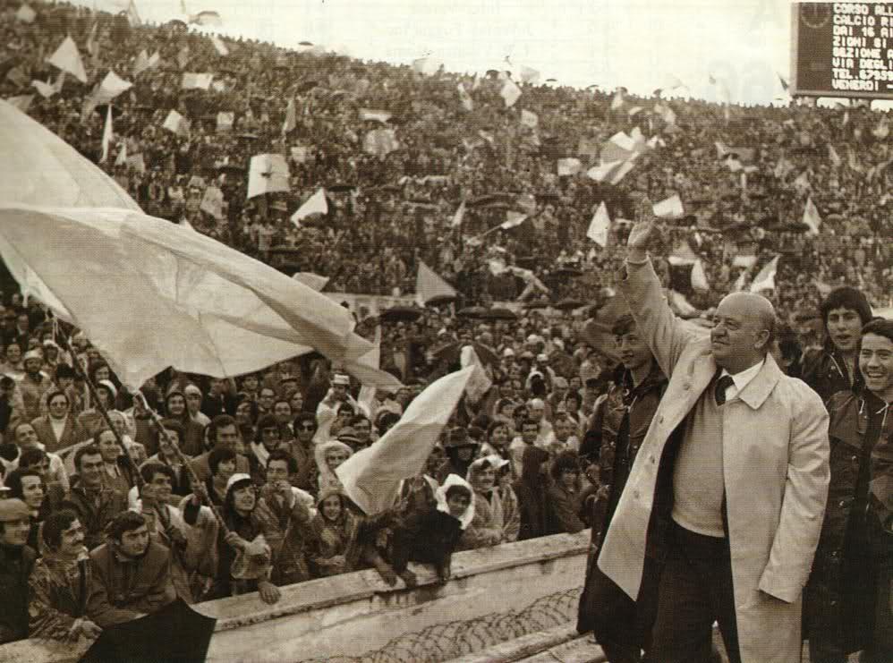 Il Presidente del primo Scudetto : Umberto Lenzini