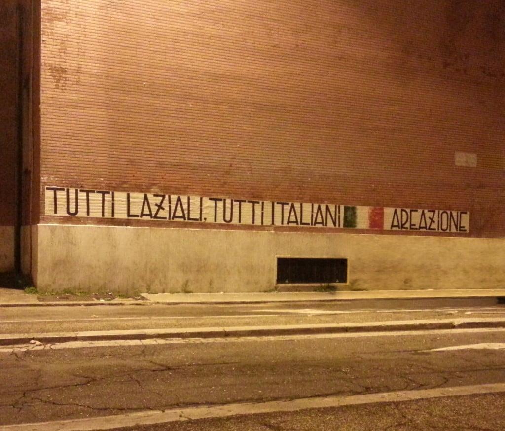 Tutti Laziali, tutti italiani!