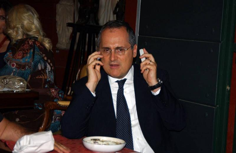 """Lotito al Messaggero:""""Sono un uomo del fare""""."""