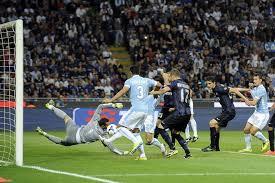 Addio Europa :Inter-Lazio 4-1, la difesa laziale non guasta la festa d'addio di capitan Zanetti