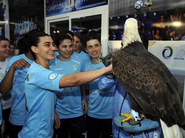 Lazio femminile calcio a 5 campione d'Italia