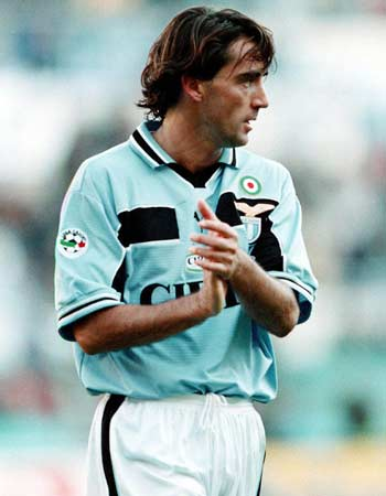 """Personaggi storici SS Lazio: Roberto Mancini, il """"Mancio"""""""
