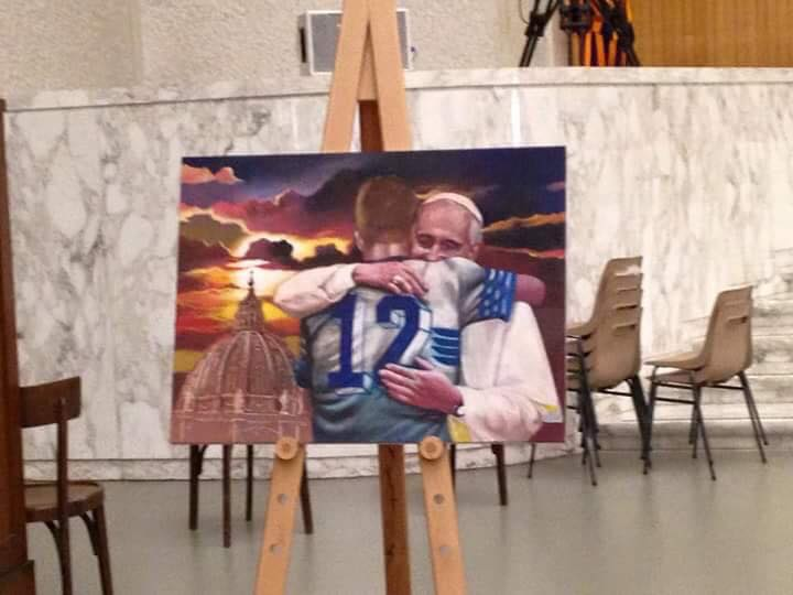 Lazio – Papa Francesco: tante emozioni