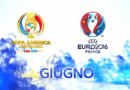 Campionato Europeo 2016 (seconda giornata gironi B-C del 16 giugno) e Copa America Centenario(quarti di finale del 17 giugno): la programmazione di Rai e Sky