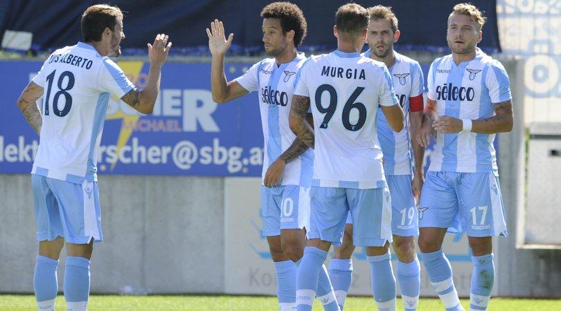 E' una Lazio che piace, battuto il Leverkusen 3-1