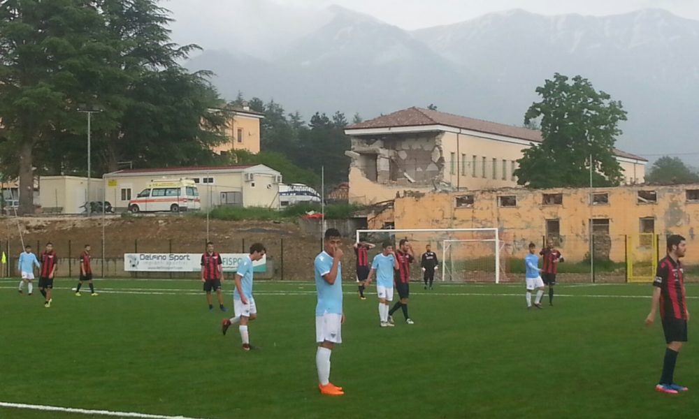 Amatrice ed il nuovo stadio, la Lazio under17 e l'amichevole per l'inaugurazione